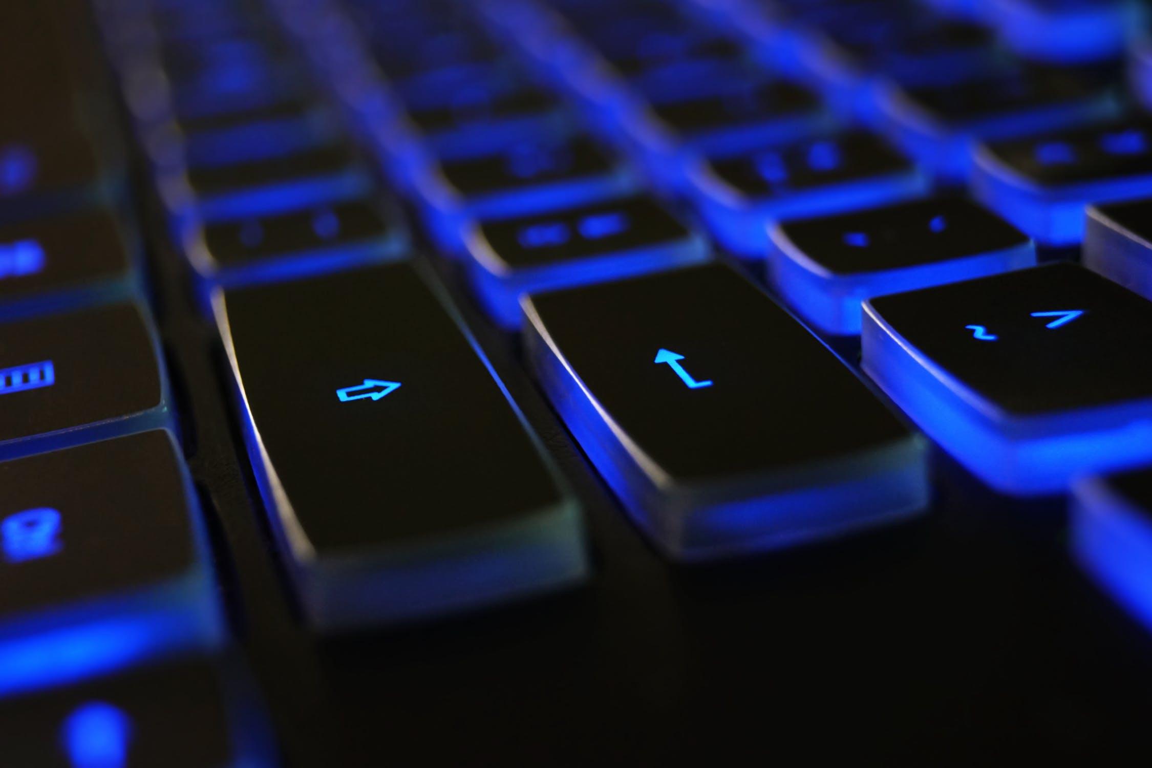 keyboard abstract